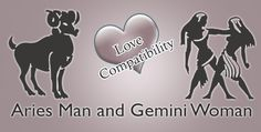 Aries Man and Gemini Woman Love Compatibility