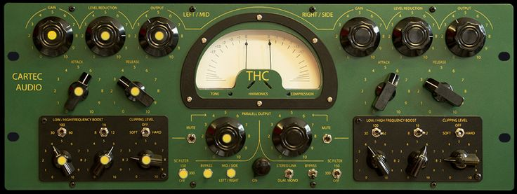 Cartec THC. Two channel hybrid compressor that employs eight valves and four discrete amplifiers. £3,345 (ex VAT)