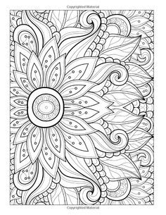 free coloring page coloring adult flower with many petals
