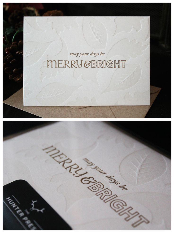 33 best Letterpress images on Pinterest | Greeting card, Paper mill ...