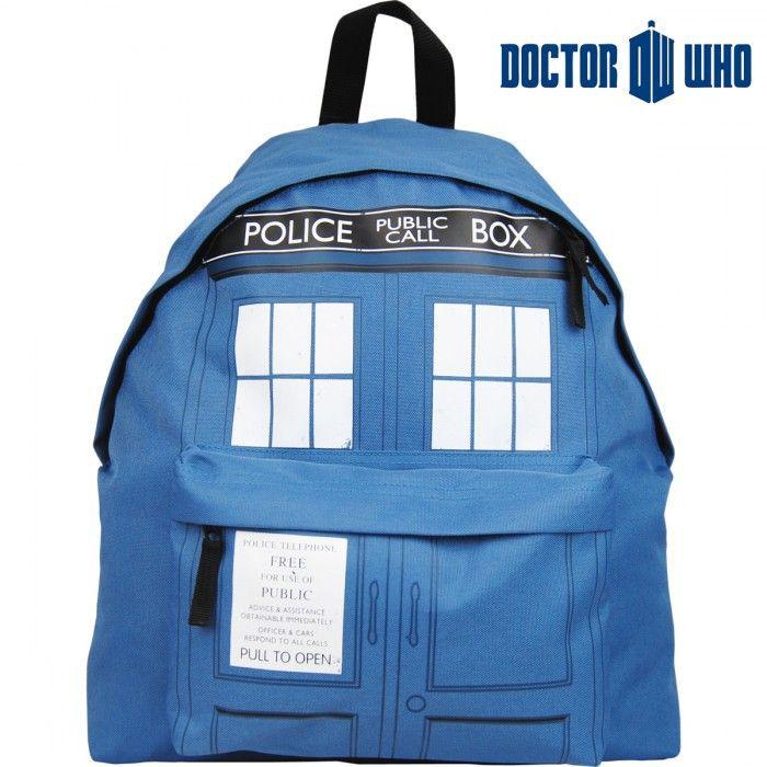 Sac à dos Doctor Who Tardis