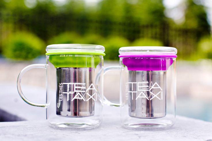 Tasse en verre borosilicate 350ml