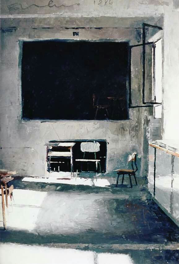 Carlos San Millan Interior PaintingHigh
