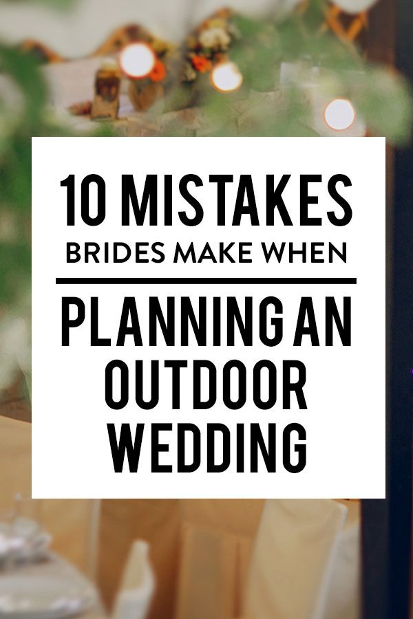 Outdoor weddings in the summer are hands down the best. Warm weather, sunshine, refreshing summer cocktails, scenic backdrops–we could go on forever. But there are a few things you should learn before walking down the aisle.