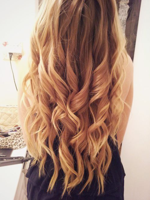 """my hair is longer than it's been since I was a child &, thanks to chemo, as fine as a baby's hair. I'd like to keep it long & wear it down sometimes. My style is """"casual elegance."""" These relaxed, polished curls would be grand. Perhaps it's time for a curling iron."""