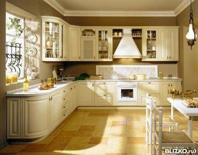 Маленькая кухня с фасадом Италия 18