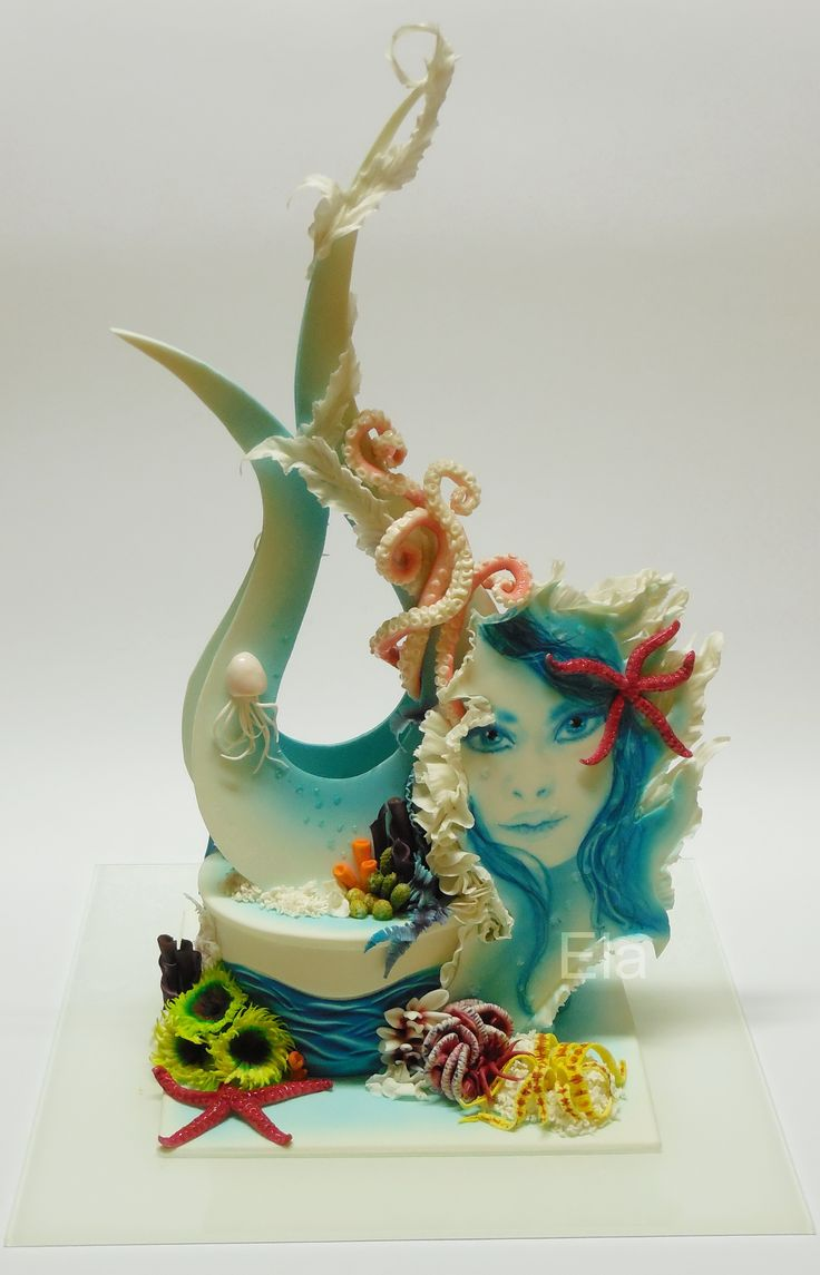 Magic Seaworld sugar sculpture  cukrárska artistika