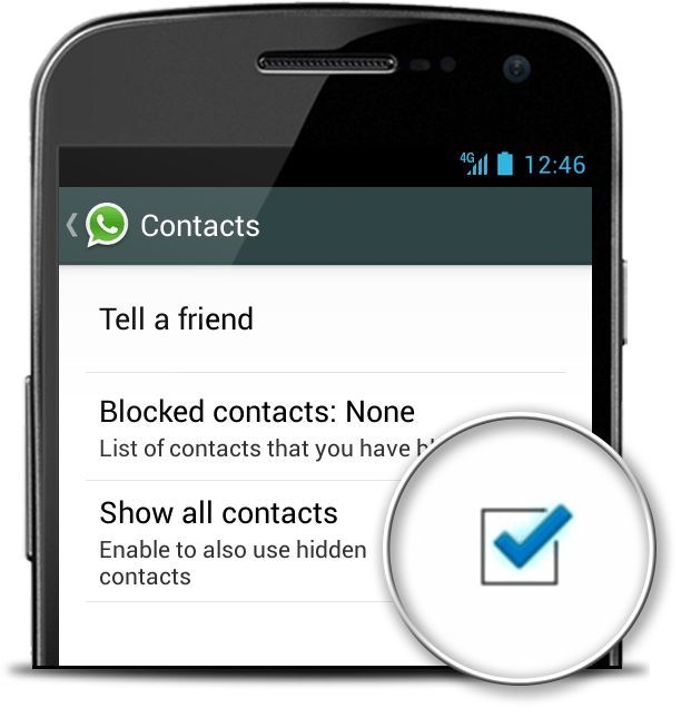 Why are my contacts not showing in WhatsApp? (How to fix) – Android Forum - AndroidPIT