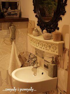 .zmysły i pomysły: łazienka