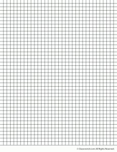 25 Inch Grid Paper Printable Graph Paper And Grid Paper  Graph Sheet Download
