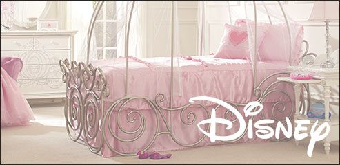 Disney Princess 6 Pc Twin Carriage Bedroom - Disney Bedroom Sets. @ Rooms To Go