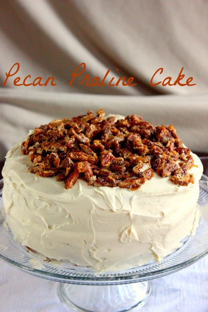 Praline Pecan Cake (my grandma used to make one like this!! - L )