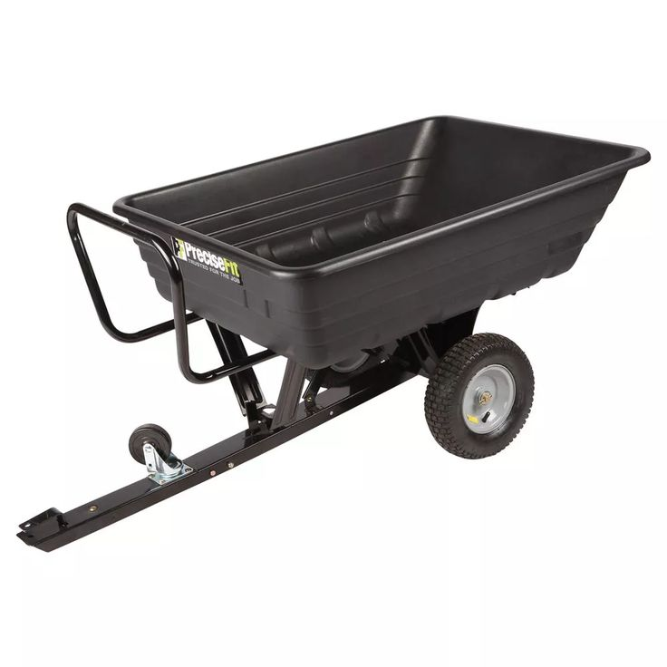 Precise Fit Push Tow Dump Cart - Masters Home Improvement