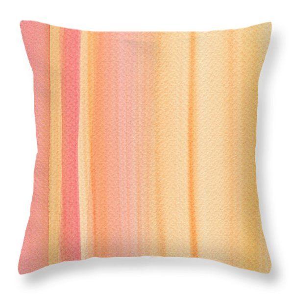 Throw Pillows - Sunrise Throw Pillow by Kathleen Wong
