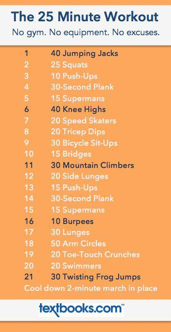 The 25 Minute Workout // 21 Moves in 25 Minutes // No equipment needed, no excuses allowed! Download the workout moves to your phone and pin on Pinterest for easy access anywhere! File under: dorm room workout, hotel room workout, travel workout, do anywhere workout, no equipment workout, totally kickbutt workout!: