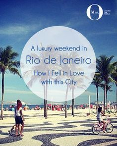 To say that Rio de Janeiro is stunning is an understatement - it is sexy, heartbreakingly beautiful, and elegant. Everything a girl wants to be! We slept for 10 hours each day, bought way more clothes and shoes than anticipated, ate incredible delicacies, and came back to England looking healthier and happy.