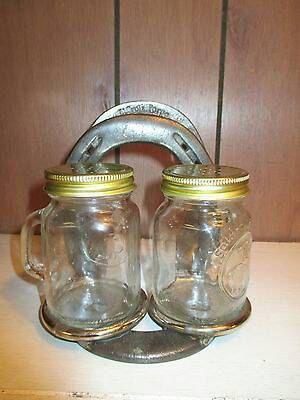 Horse Shoe Salt And Pepper Shaker Napkin Holder Western Kitchen Decor By Mwestdesigns On Etsy
