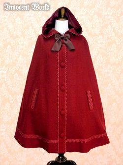 Hood cloak ribbon