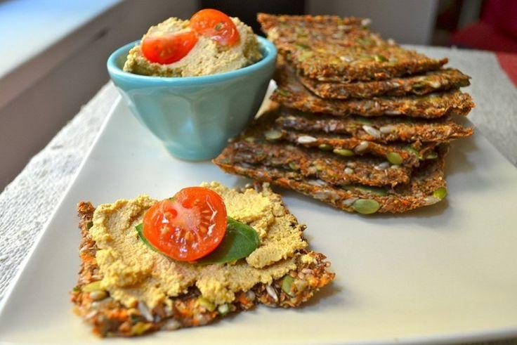Sándwich ¡con pan de zanahoria y semillas! | Notas | La Bioguía