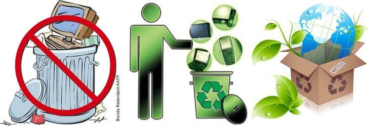 reciclaje de basura electronica