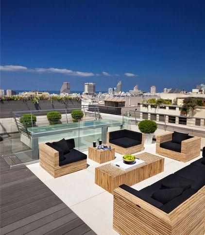mediterranean patio by Elad Gonen & Zeev Beech
