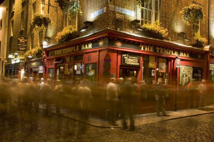 Sample a pint of the Black stuff in one of Dublin's many bars