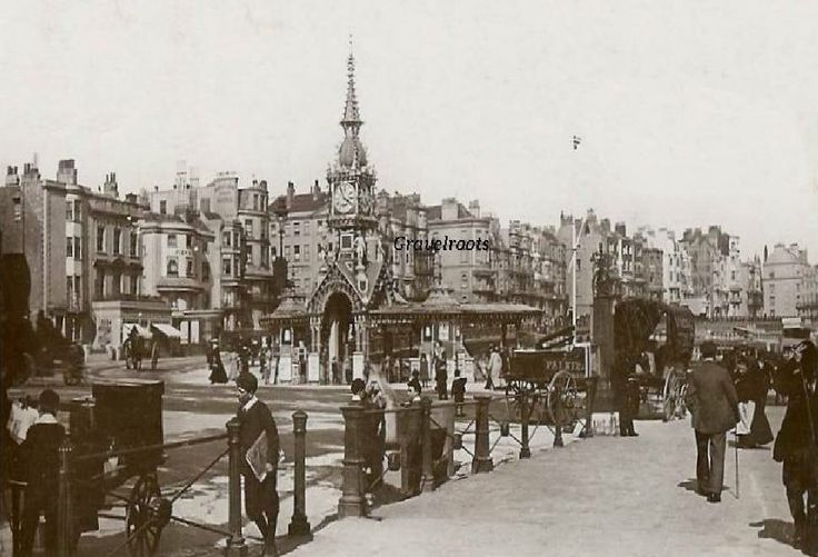 Edwardian Times in Brighton East Sussex England