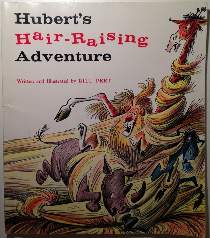 Chronicling Bill Peet: Hubert's Hair-Raising Adventure
