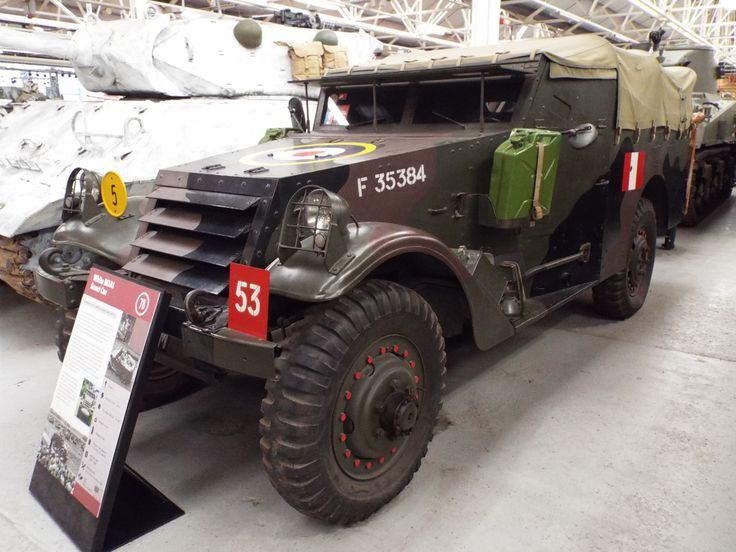 US White M3A1 Scout Car 1939-88 Tank Museum Bovington