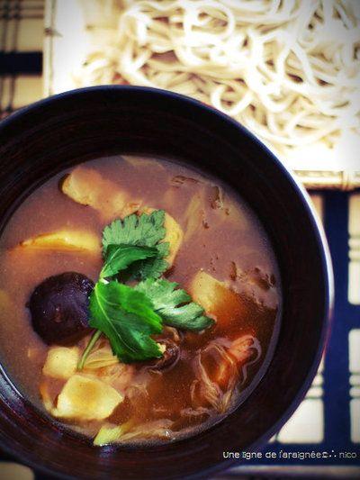 カレー南蛮つけ蕎麦。 by ささきのりこ。さん | レシピブログ - 料理 ...