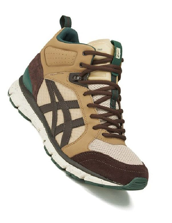 132be0b021751 Onitsuka Tiger Men s Harandia MT Trainers - Sand Dark Brown with an urban  hiking boot design. The hybrid
