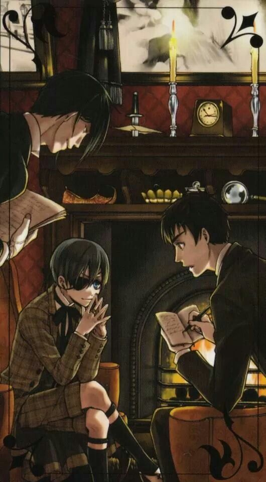 Black Butler: Book of Murder cant wait till it comes out on anime. I hope it is as good as the manga.