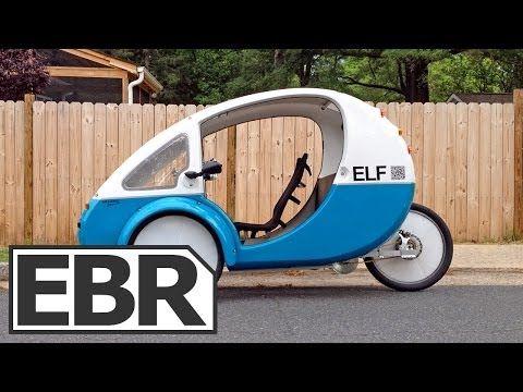Organic Transit ELF Video Review - Solar Powered Recumbent Electric Trike - YouTube