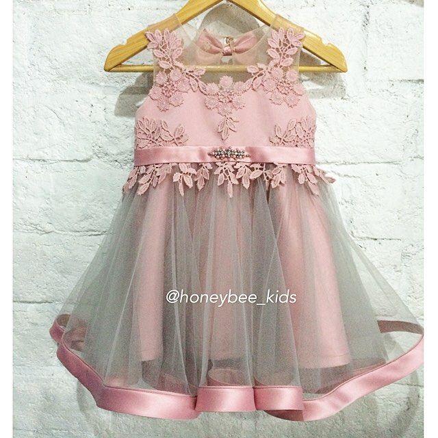 Cheryl dress idr 800.000 0-5y #honeybeekids #honeybee_kids