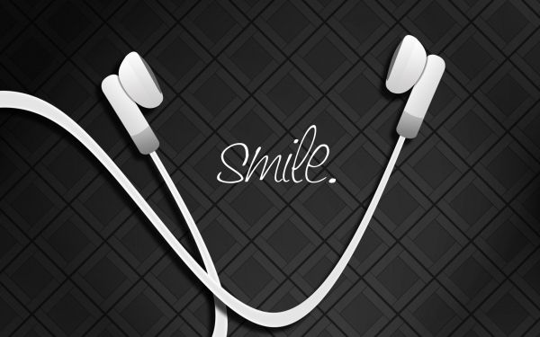 Descargar Fondos de pantalla Recortar sonrie y vive la musica HD --> Imagen Recortada a :800x600 o elige tu Resolución de pantalla