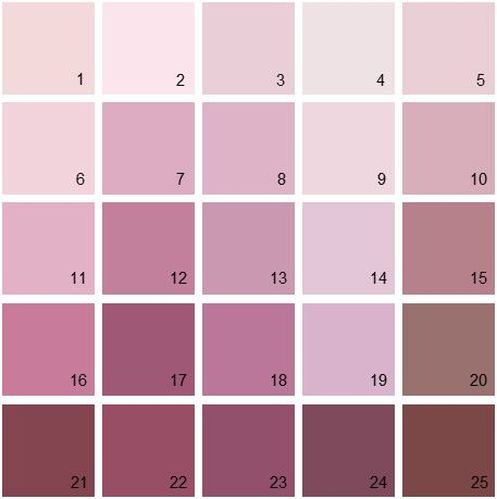 Benjamin Moore Red House Paint Colors - Palette 17