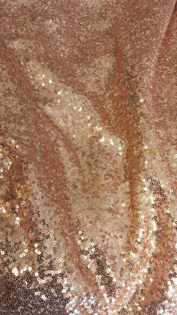 Gold Sequins Table Linens And Rose Gold On Pinterest