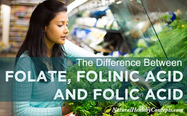 What's the difference between folate, folinic acid and folic acid? This article will answer your question and also educate about the folic acid controversy.