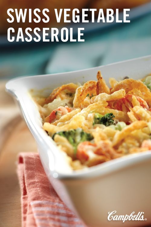 Served hot and bubbly from the oven, this colorful and cheese-topped veggie casserole is good enough tosteal the limelightfrom your favorite main dishes.