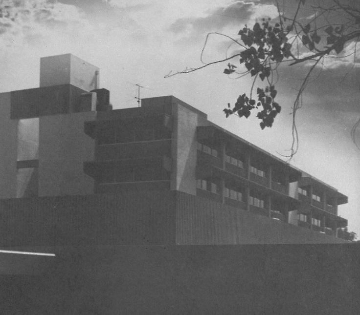 San Bernardino Hospital. Architects: Harnish, Morgan and Causey