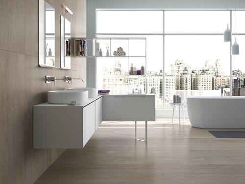 Bathroom porcelain stoneware floor tile: wood look - SILVIS: HUMUS - ArchiExpo