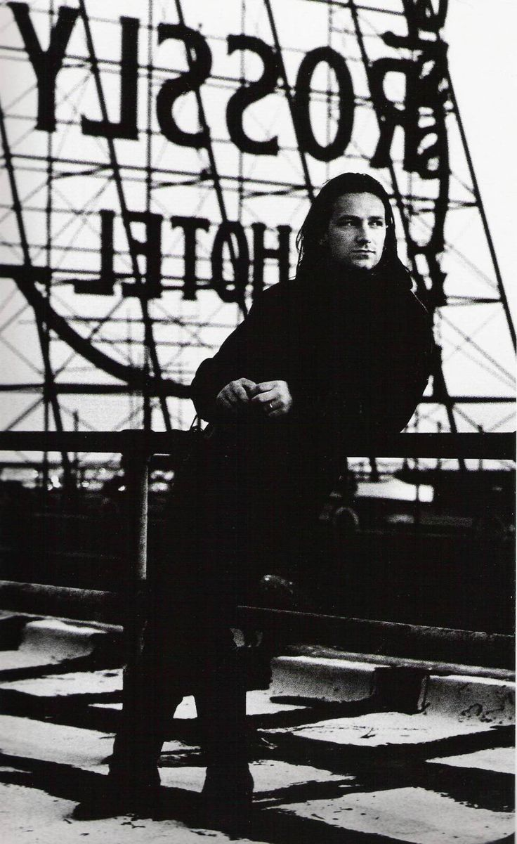 Bono, Anton Corbijn. I love the fact that he never left his band to pursue a solo career!! Love their music!!