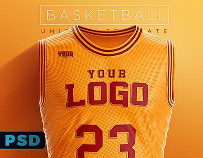 436dc5c6051 Basketball Uniform Jersey PSD template   sa   Basketball uniforms, Sports,  Basketball equipment
