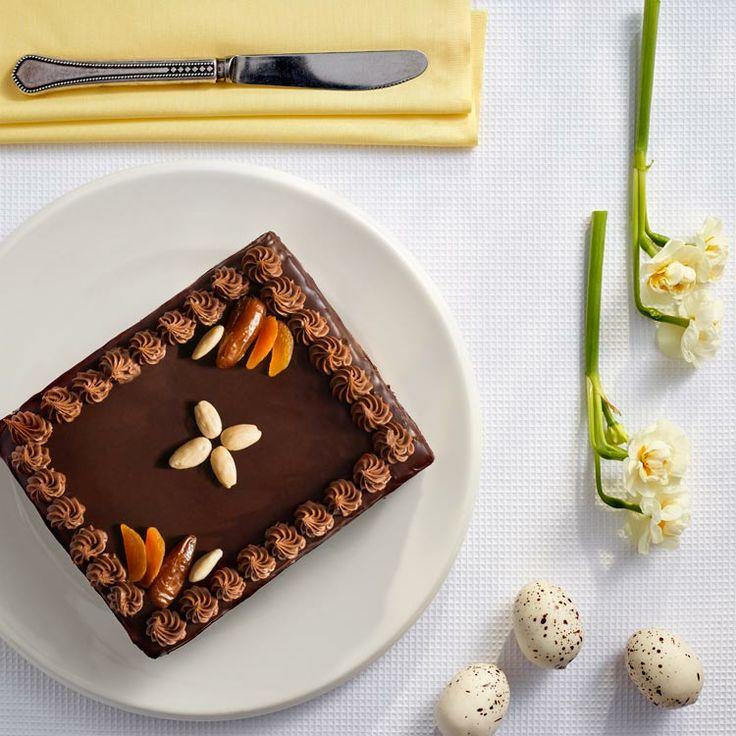 Mazurek czekoladowy #lidl #przepis #mazurek