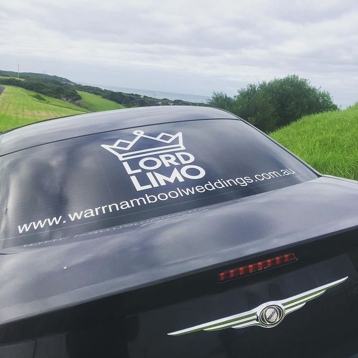 #Repost @lord_limo  This is not a drill. #lordlimo has arrived.  You will spot our black town car around the traps. With our white 11 seater stretch Chrysler 300c arriving soon!  Taking bookings now. Don't miss out on your special date. Enquiries via their fb page while their website is still under construction #limo3280 #destinationwarrnambool #warrnambool #weddings3280 #love3280 by destinationwarrnambool