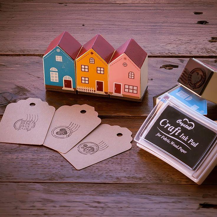 Set de Sellos Scrapbook Casas - CreativeBox