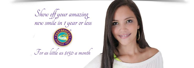 Fastbraces! Have you never heard that name? It means straight teeth in months... not years! Treatment times start at three months compared with EIGHTEEN MONTHS for traditional braces. A straighter smile is more possible than ever with Fastbraces. Dr. Espinoza is Certified as a Master Affiliate for his expertise in Fastbraces. Fastbraces: less time, less money, less discomfort. Call Central Dental Care now for your appointment: 602-903-5935. Book online by clicking this image.