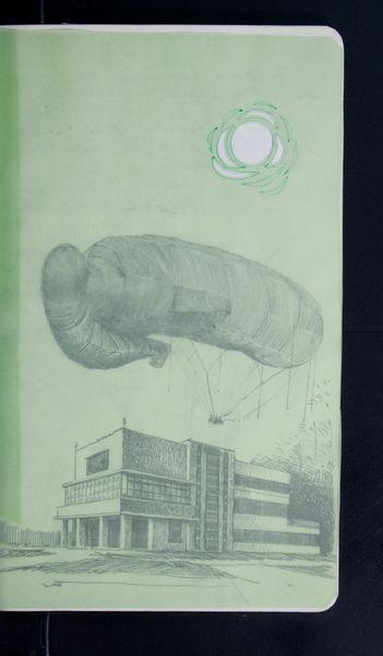 Bogdan Lupescu in the Sketchbook Project