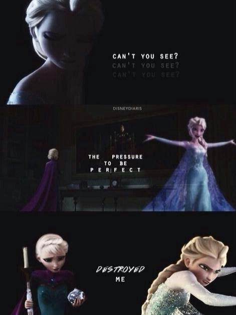Dark Disney ♥ Elsa Frozen