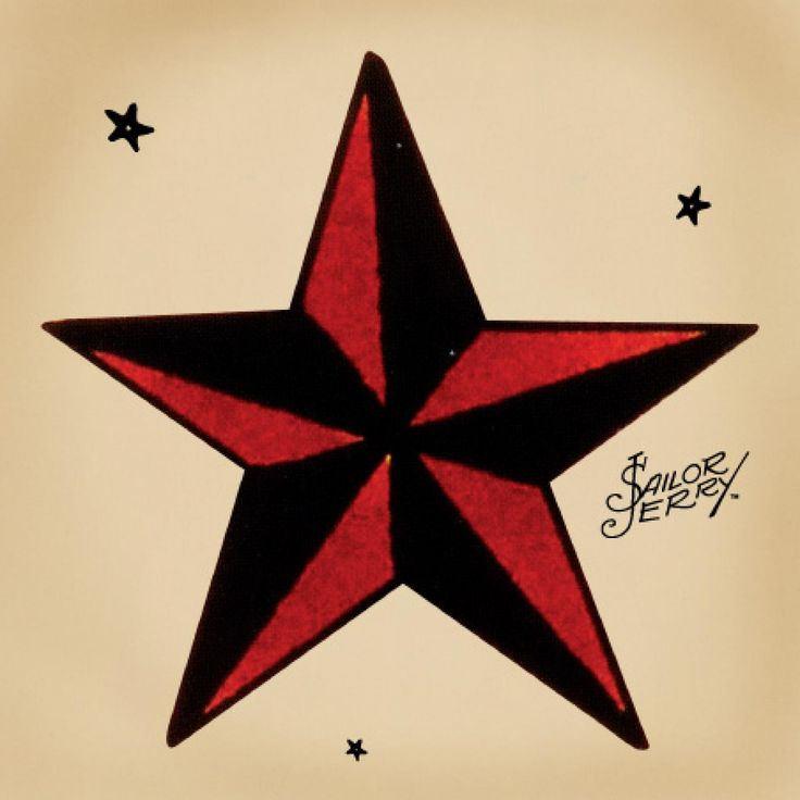 Sailor Jerry Star.  Stay on course.  I think this will be my first.  For my art, my brother Chris's service, and the magic.